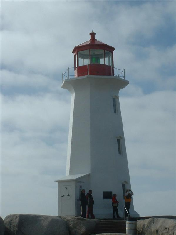Lighthouse  @ Peggy's Cove