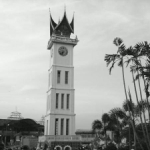 Bukit tinggi Clock Tower at City Square (or known as Jam Gadang)