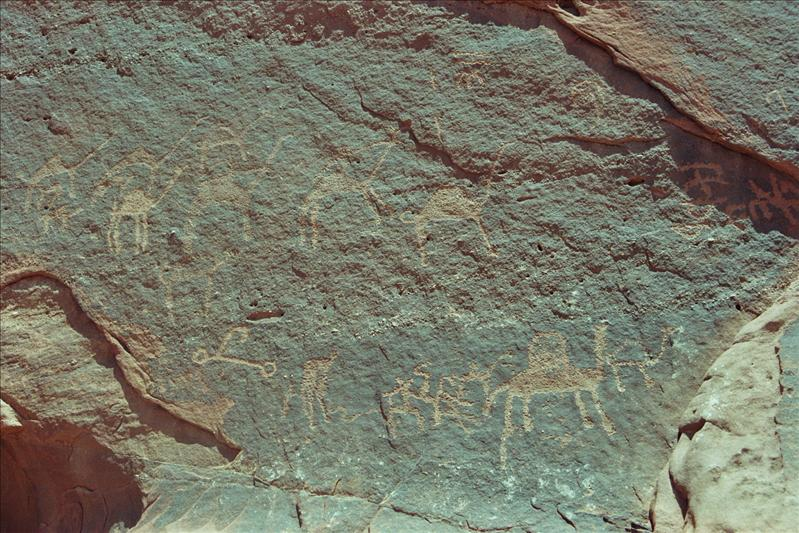 Nabataean rock carvings