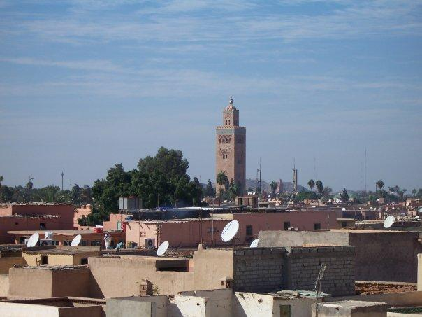 VIEW FROM PALAIS EL-BADI, MARRAKECH