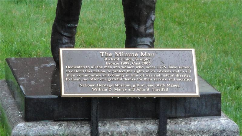 Minute Man Museum in Lexington, Mass.