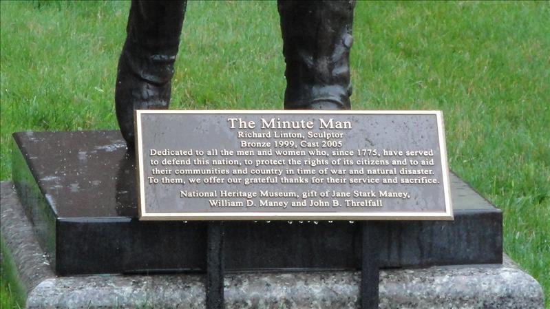 Minute Man Museum in Lexington, Mass.