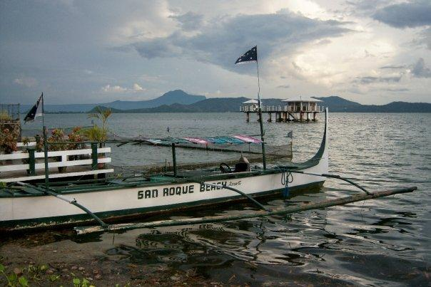 SAN ROQUE BEACH RESORT, TALISAY, LAKE TAAL
