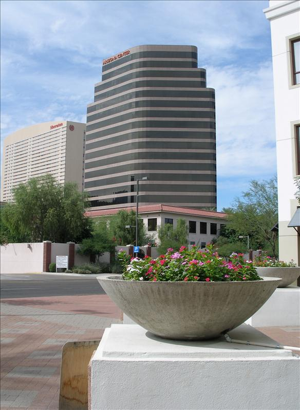 Arizona Center and Sheraton
