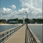 biloxi boardwalk area
