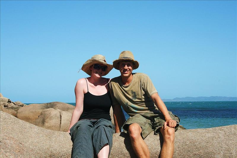 Chilling on Magnetic Island.