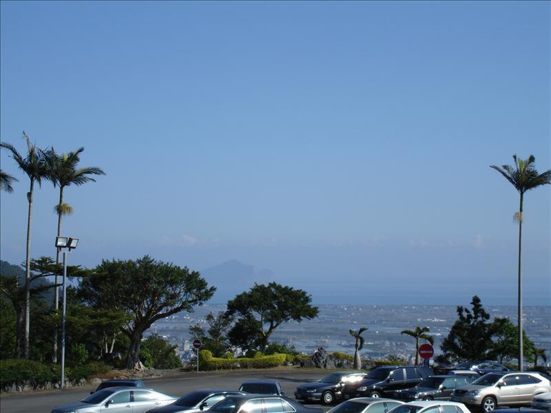 礁溪球場遠眺龜山島