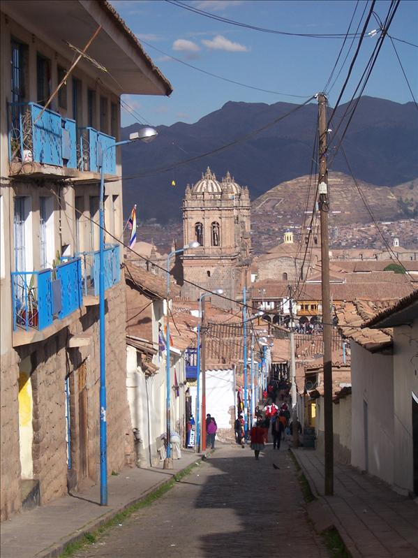 CUZCO - BACK STREETS