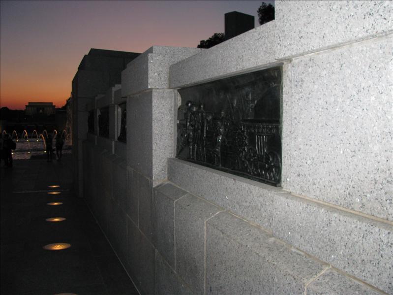 WWII monument. het is echt prachtig!