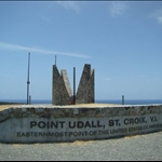 Point Udall - Most eastern point in the US