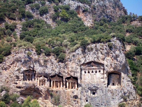 KAUNOS - LYCIAN TOMBS