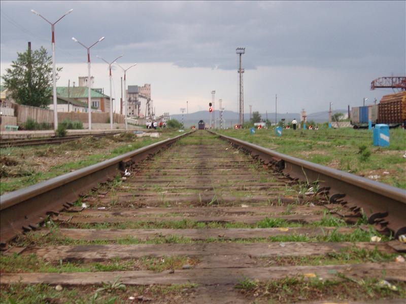 Train coming towards me