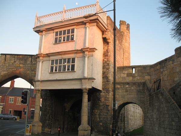 Walmgate where some of out classes are held