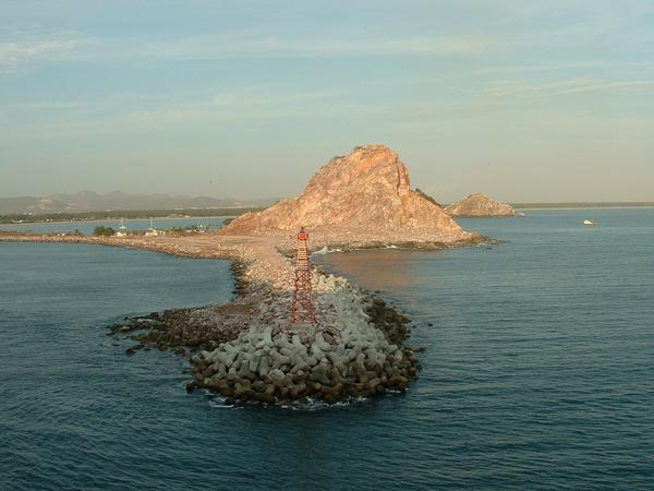entry to Port of Mazatlan