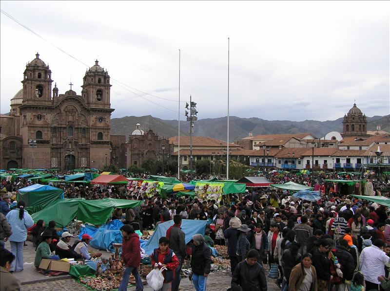 Cusquenan took it to the street on Christma Eve--Massive market