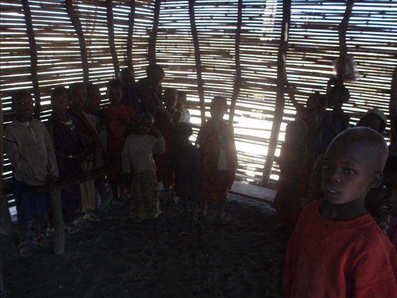 Masai students