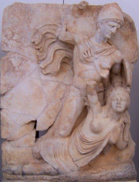 CLAUDIUS GIVING BRITANNIA A GOOD SEEING TO - APHRODISIAS