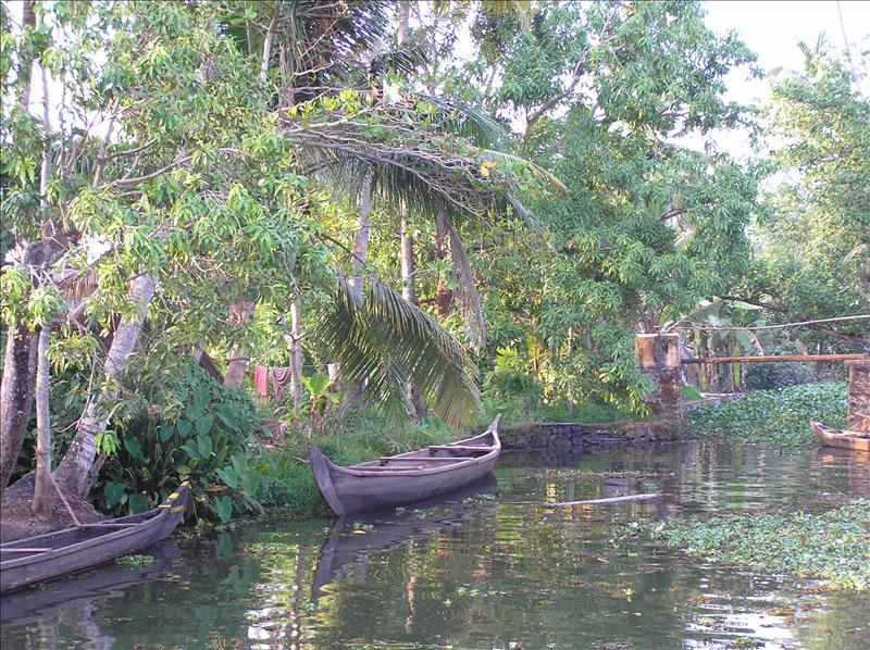 Backwaters canal