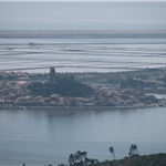 April 2009 - return to France. Salt pans at Gruissan.....