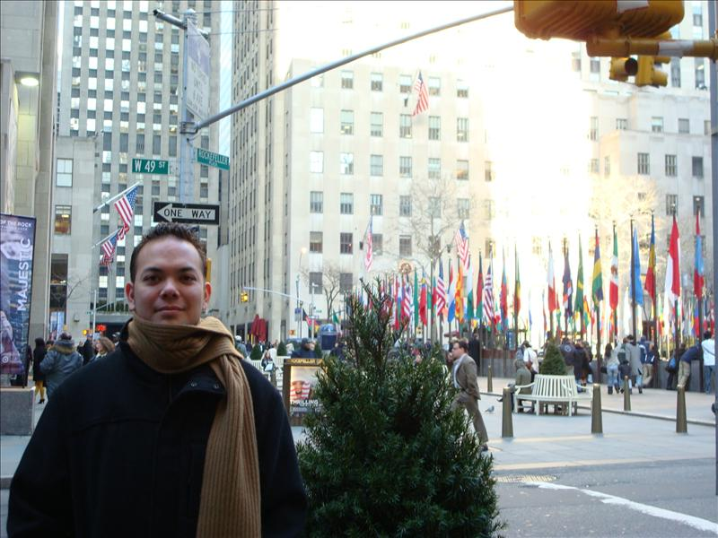 Brent at the Rockefeller