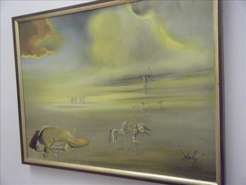 salvador dali's interesting paintings