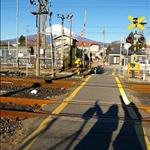 a railway crossing