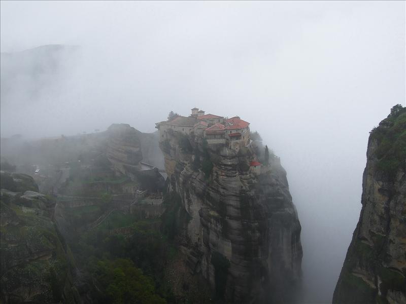 Meteora, Varlaam Monastery, Greece