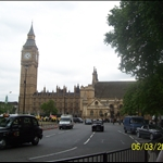 Big Ben with Westminster Abbey.JPG