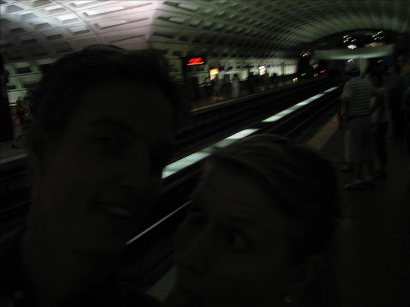 we gingen deze dag naar de (gratis) dierentuin met de metro