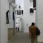 Beautiful architecture in Asilah Medina.