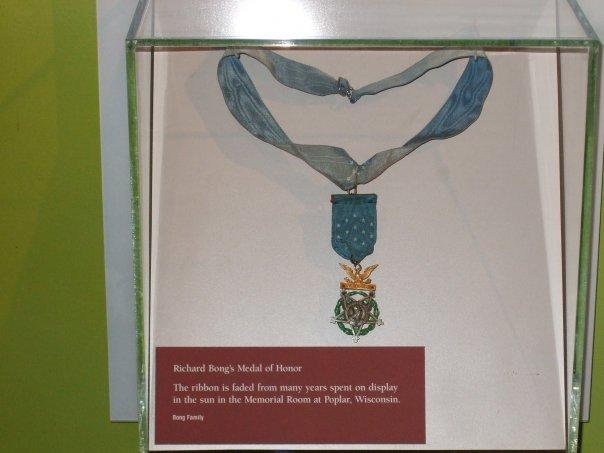 Richard Bong's Medal of Honor