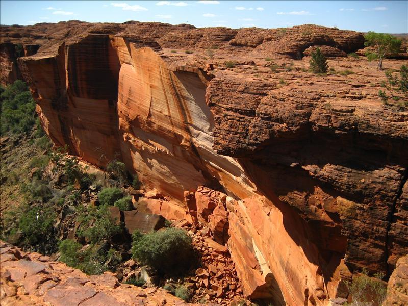 King's Canyon rim
