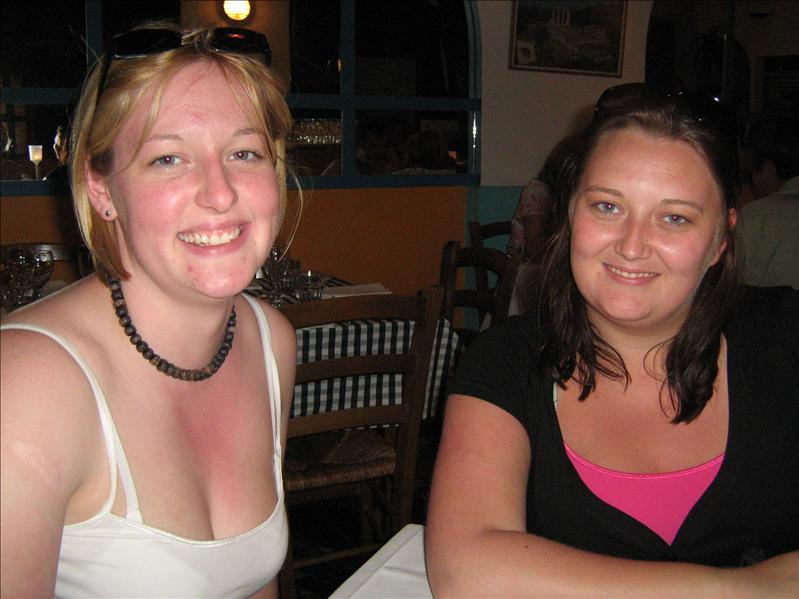 Me and Helen in Greek Place