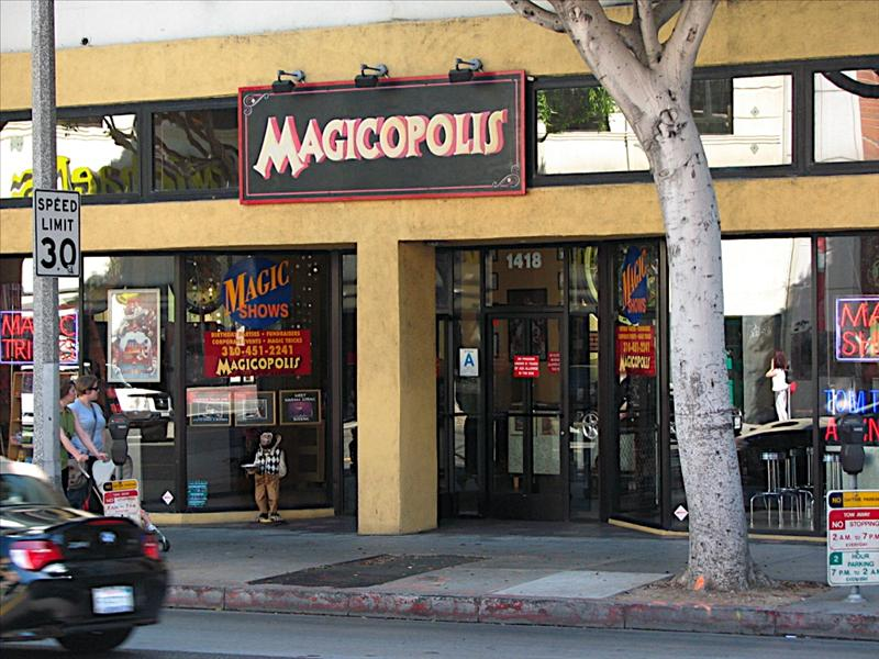 I bought magic trick at Magicopolis in Santa Monica