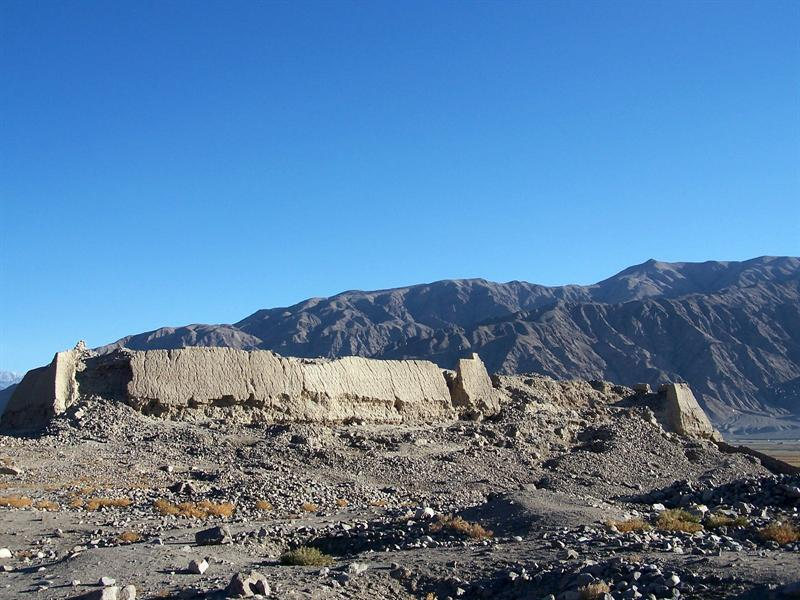Ruins of an ancient kingdom, Xinjiang