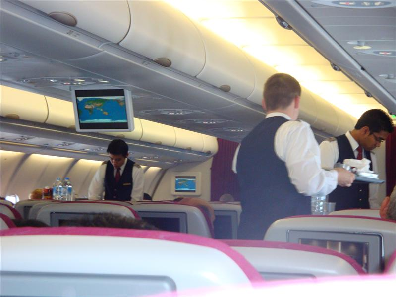 fly with qatar to bali
