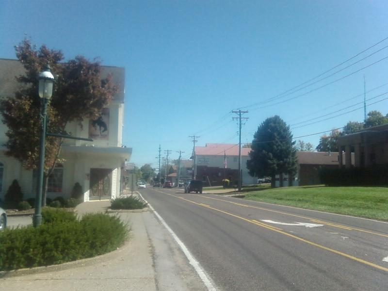 short mainstreet of Imperial, Missouri