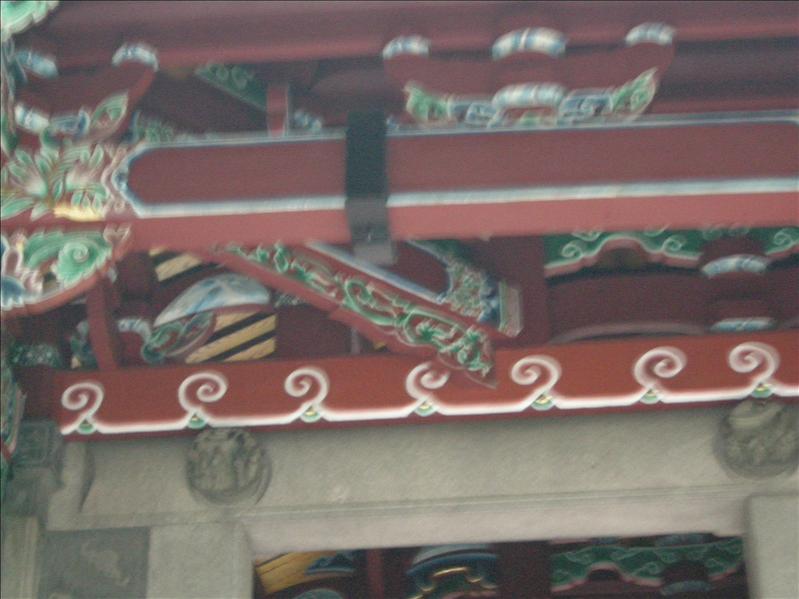 木梁,做得非常仔細,多謝收復人員的用心,讓孔廟的華麗裝嚴和精神得以保存