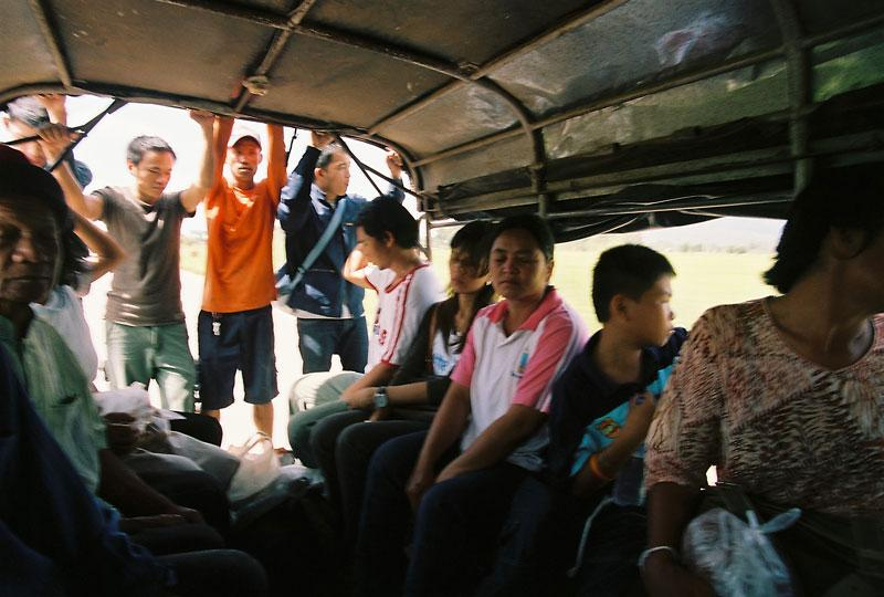 bus from Chattrakan to Phoosoidao Nation Park