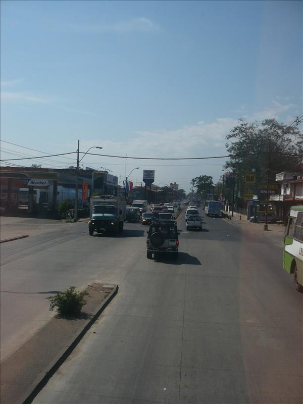 street of Paraguay