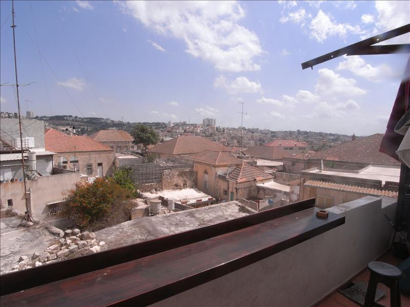 view over nazareth from fauzi azar inn, old city nazareth