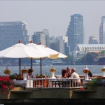 Breakfast at Menam Riverside Bangkok