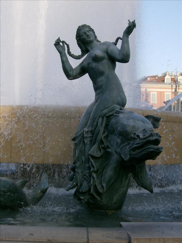 Monumental Fountain (particular)