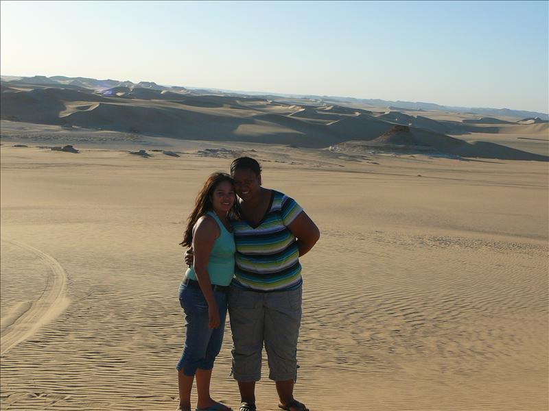 Siwa - Woestijn Meliza en Jo-Ann