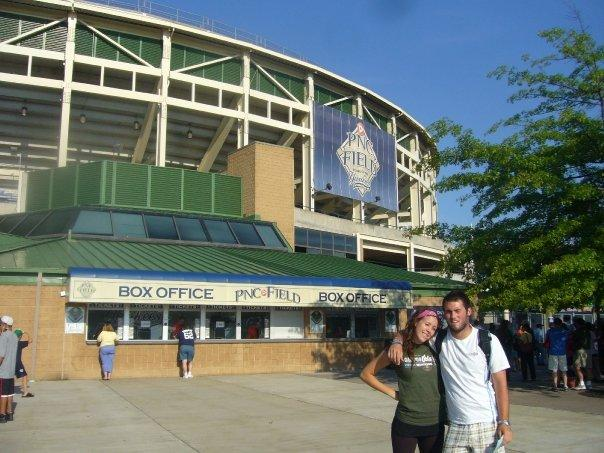 Me and Juice Outside PNC Yankee Stadium