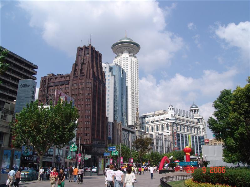 南京路、上海