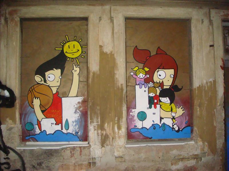 Graffiti... it's everywhere... even in Athen's