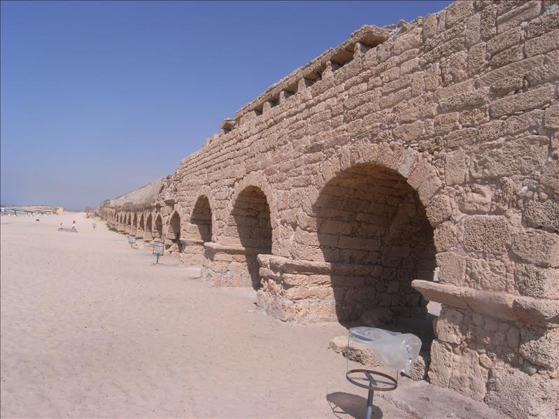 roman aqueduct Caesarea