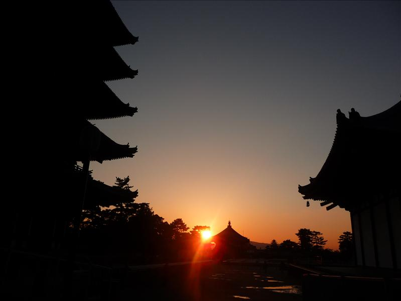 8.10.2008, sunset