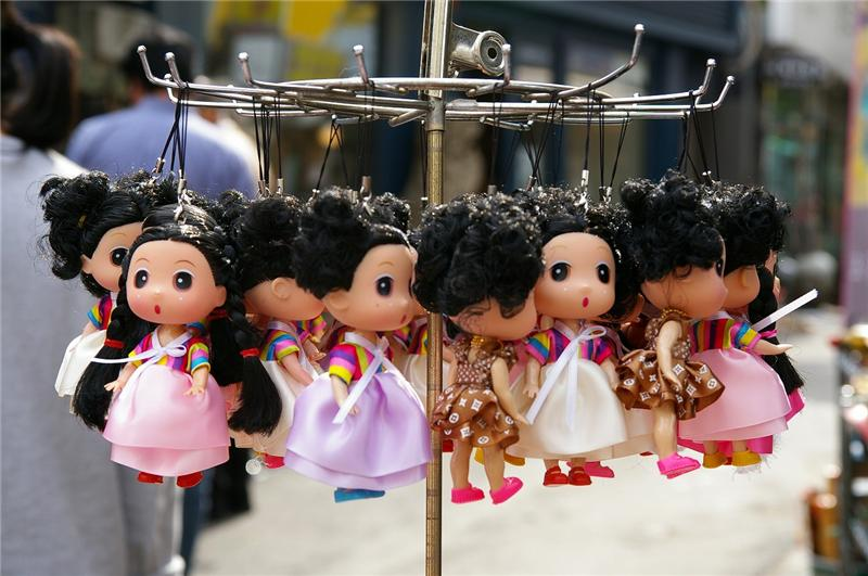 Korean doll